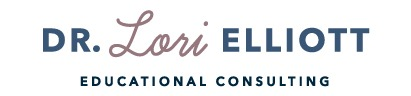 Dr. Lori Elliott Educational Consultant Sticky Logo